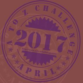 Blogging A to Z Challenge 2017 Badge